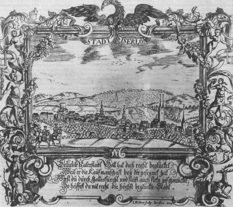 Вид города Изерлон