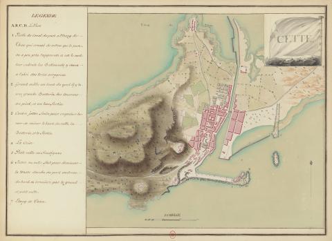 План города, 1777 год