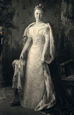 Вильгельмина фото 1901