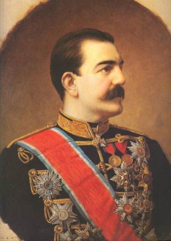 Милан I Обренович
