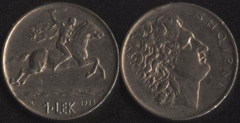 Албания 1 лек 1926