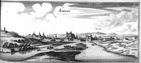 Амьен гравюра