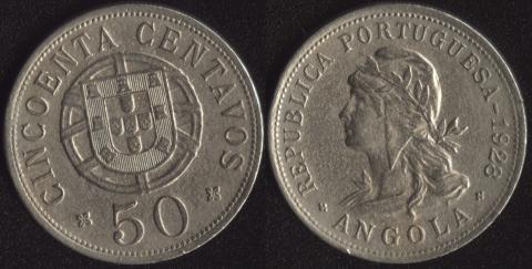 Ангола 10 макута 1928