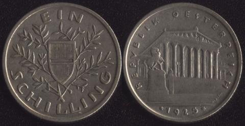 Австрия 1 шиллинг 1925