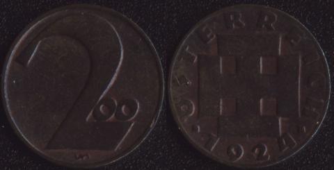 Австрия 200 крон 1924