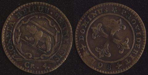Берн 4 крейцера 1798