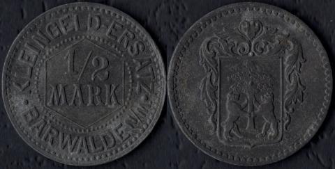 Бервальде 1/2 марки