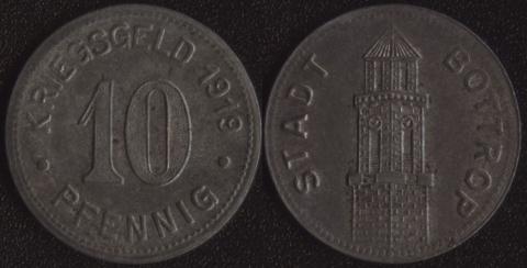 Боттроп 10 пфеннигов 1919