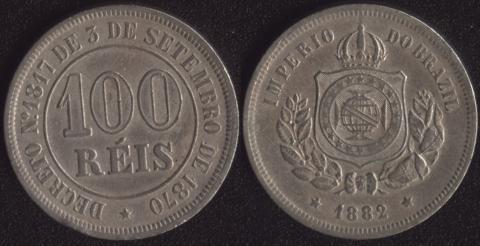 Бразилия 100 рейс 1882