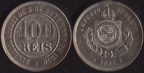 Бразилия 100 рейс 1887
