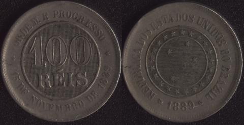Бразилия 100 рейс 1889