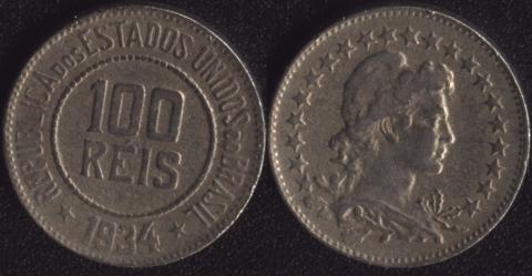 Бразилия 100 рейс 1934