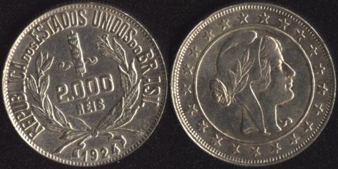 Бразилия 2000 рейс 1924