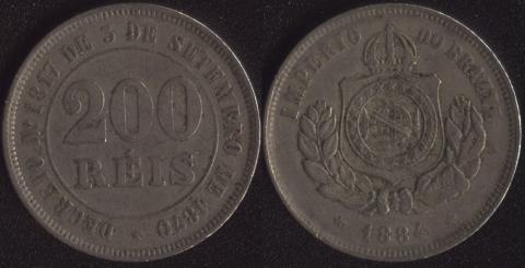 Бразилия 200 рейс 1884