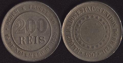 Бразилия 200 рейс 1897