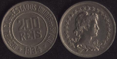 Бразилия 200 рейс 1934