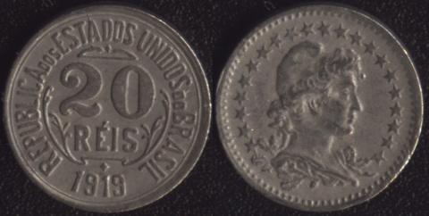 Бразилия 20 рейс 1919