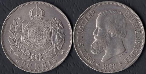 Бразилия 500 рейс 1868