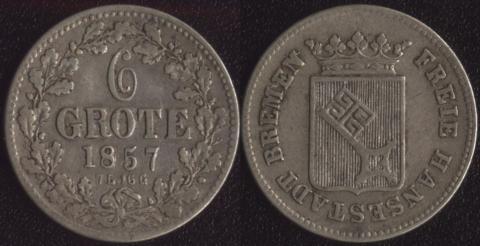 Бремен 6 гроте 1857