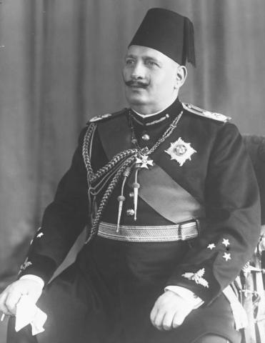 Ахмед Фуад I в мундире