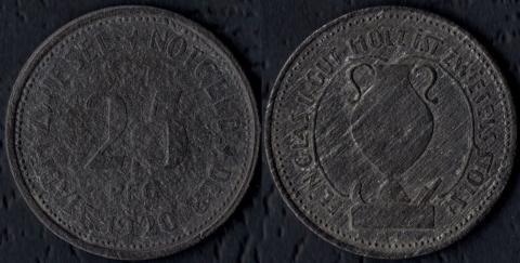 Цвисель 25 пфеннигов 1920