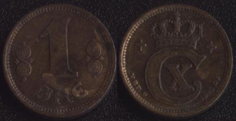 Дания 1 оре 1915