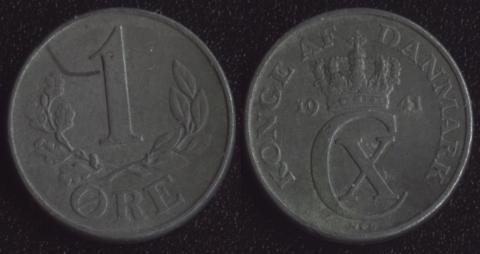 Дания 1 оре 1944
