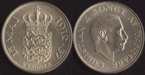 Дания 2 кроны 1937