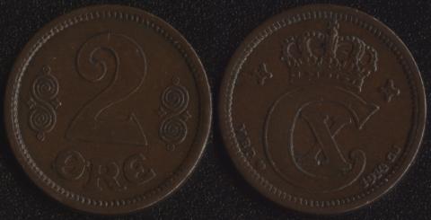 Дания 2 оре 1914