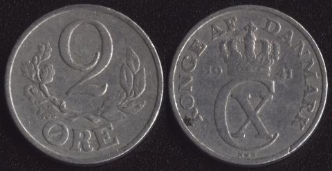 Дания 2 оре 1941