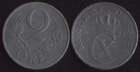 Дания 2 оре 1945