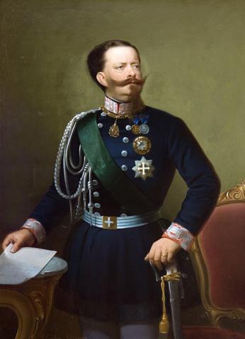 Король Италии Виктор Эммануил II