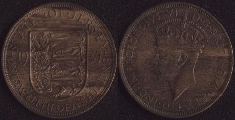 Джерси 1/12 шиллинга 1937