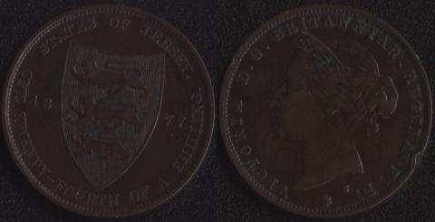 Джерси 1/24 шиллинга 1877