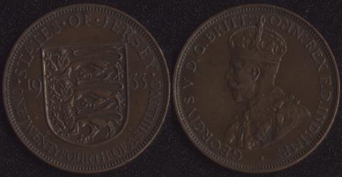 Джерси 1/24 шиллинга 1933