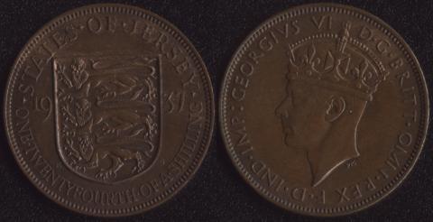 Джерси 1/24 шиллинга 1937