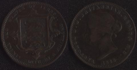 Джерси 1/26 шиллинга 1866