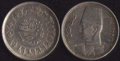 Египет 2 пиастра 1937