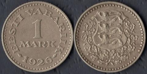 Эстония 1 марка 1926