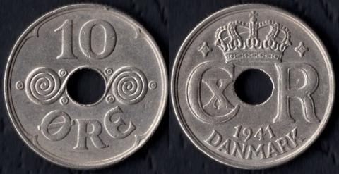 Фарерские острова 10 оре 1941