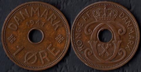 Фарерские острова 1 оре 1941