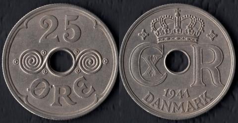 Фарерские острова 25 оре 1941