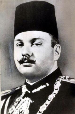 Фарук I - король Египта