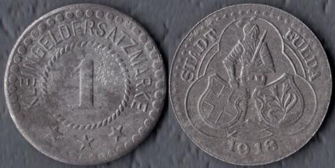 Фульда 1 пфенниг 1918