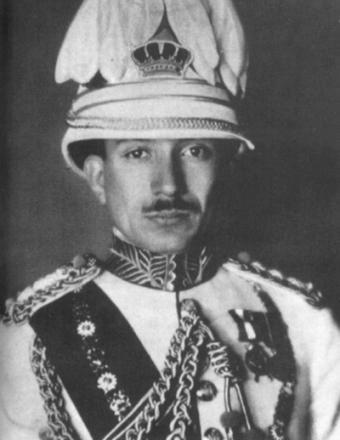 Гази I - король Ирака