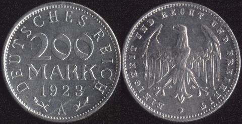 Германия 200 марок 1923