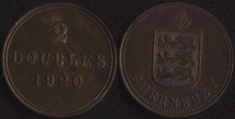 Гернси 2 дубля 1920