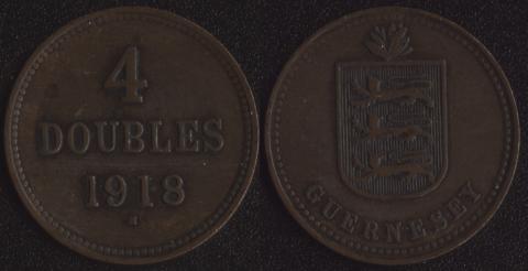 Гернси 4 дубля 1918