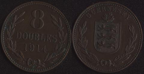 Гернси 8 дублей 1914