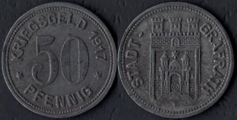 Грёфрат 50 пфеннигов 1917